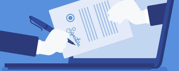 La signature digitalisée
